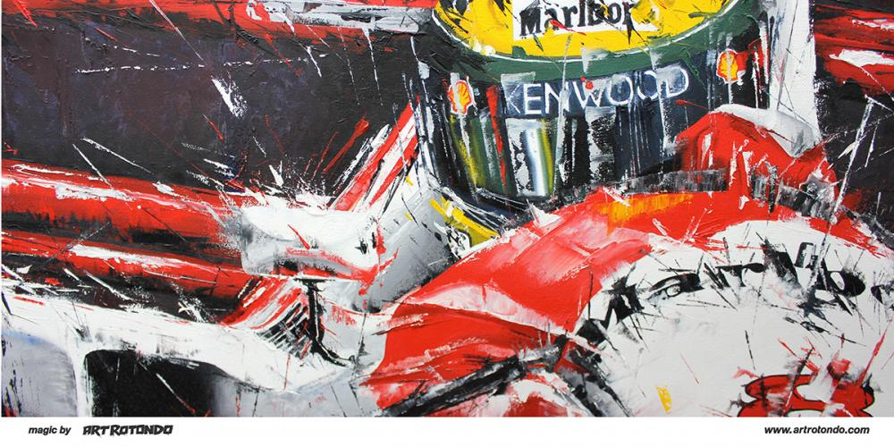 Mclaren For Sale >> F1 Art | Ayrton Senna | Magic