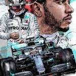 Lewis Hamilton - Sketches - Lewis Hamilton 2019