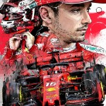 Charles Leclerc - Sketches - Charles Leclerc 2019