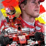 Michael Schumacher - Sketches - Michael Schumacher 2019