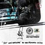 Lewis Hamilton - Lithographs - 50e Anniversaire