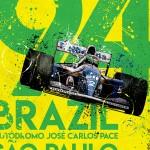 Ayrton Senna - Sketches - Brazil 94