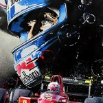 Alain Prost - Lithographs - Bataille 'Fight'