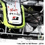 Jenson Button - Lithographs - Check Mate