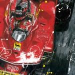 Gilles Villeneuve - Lithographs - Ciao Gilles