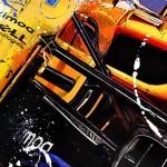 Fernando Alonso - Lithographs - Crusader
