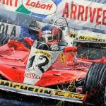 Gilles Villeneuve - Lithographs - Montreal '78
