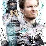 Nico Rosberg - Sketches - Nico Rosberg 2015