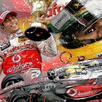 Lewis Hamilton - Lithographs - The First