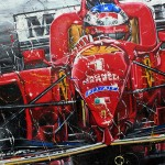 Michael Schumacher - Lithographs - Rain In Spain