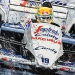 Ayrton Senna - Lithographs - The Arrival