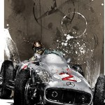 Juan Manuel-Fangio - Lithographs - The Foundation