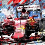 Kimi Raikkonen - Lithographs - The Ice Storm