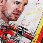 Sebastian Vettel - Sketches - Sebastian Vettel 2016
