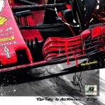 Sebastian Vettel - Lithographs - Red Fury
