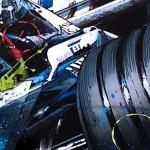Ralf Schumacher - Lithographs - Double Impact