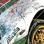Lancia - Lithographs - Stratos