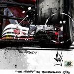 Sebastian Vettel - Lithographs - The History