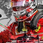 Charles Leclerc - Lithographs - This Is Monza