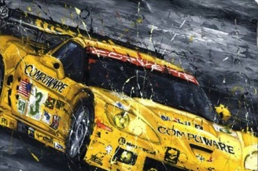 That Yellow Corvette - Max Papis
