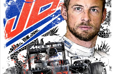 - Sketches - Jenson Button 2016