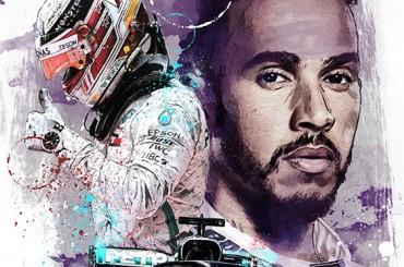 - Sketches - Lewis Hamilton 2018