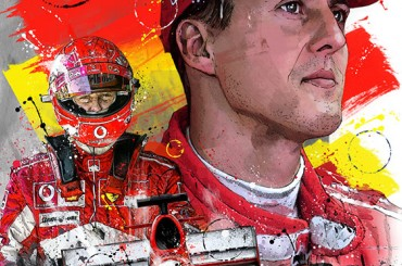 - Sketches - Michael Schumacher 2019